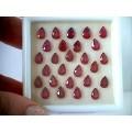 Рубин облагороженный груша 6*4 мм