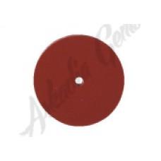 Круг полировочный каучуковый коричневый 22*2 мм
